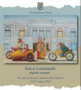 """Messina: A Palazzo dei Leoni la mostra """"Salvo Lombardo dipinti recenti"""""""