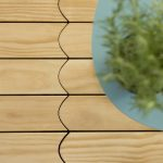Parquet outdoor: gusto decorativo e alta resistenza per la collezione Biscuit Natural Genius