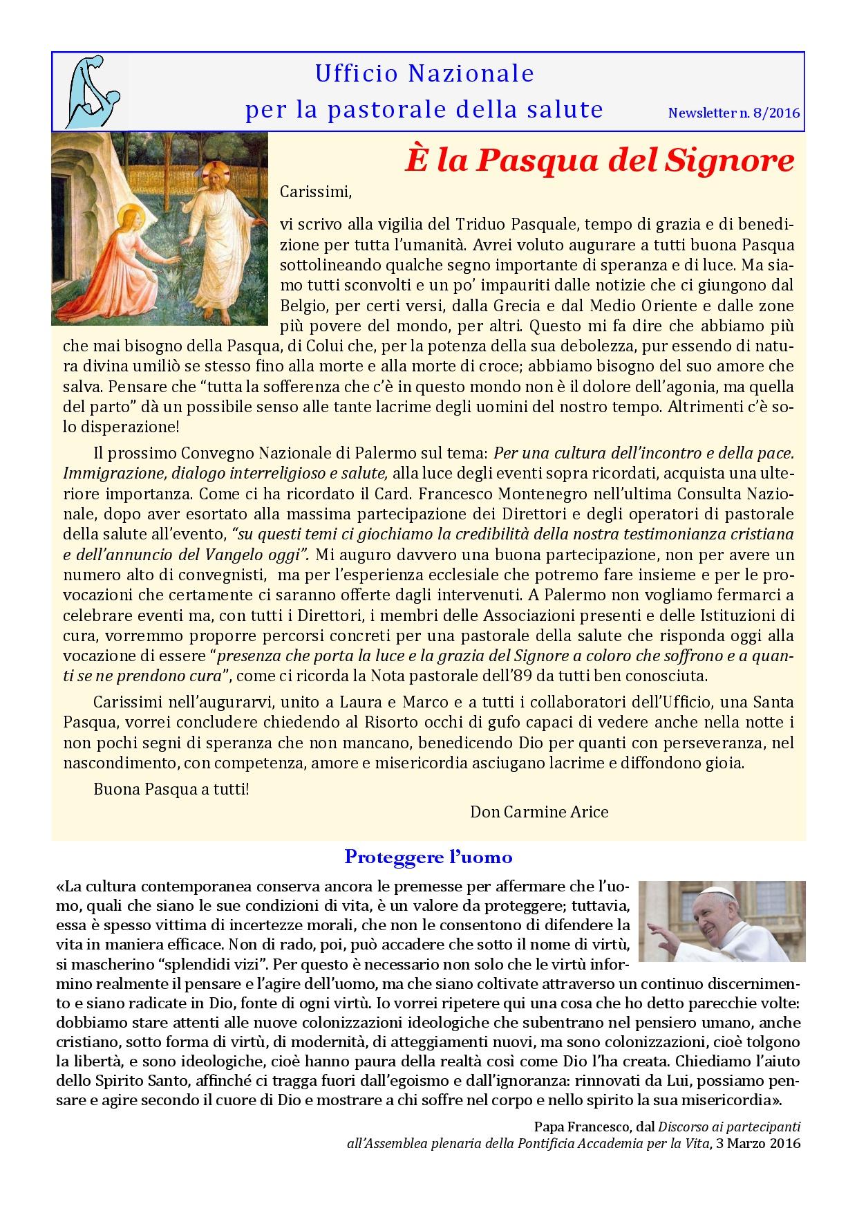 Straordinaria XXV Giornata del Malato a Lourdes