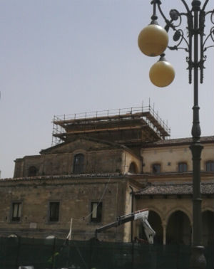 Nicosia e l'immane lavoro per restituire la cuspide alla Cattedrale