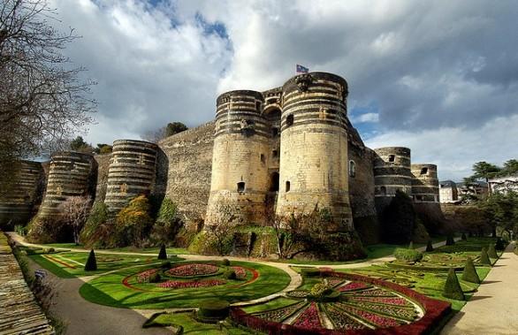 10 gennaio 2009: Il Castello di Angers danneggiato da un incendio
