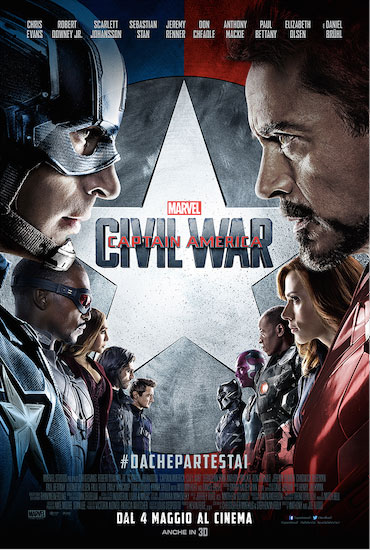 Recensione del film Captain America: CIVIL WAR, dolore e rancore