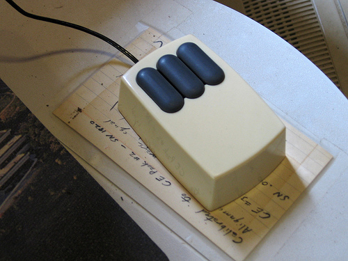 27 aprile 1981: Allo Xerox PARC presentato il primo mouse