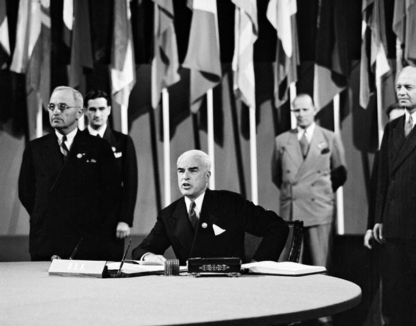 24 ottobre 1945: Viene ratificato lo Statuto delle Nazioni Unite