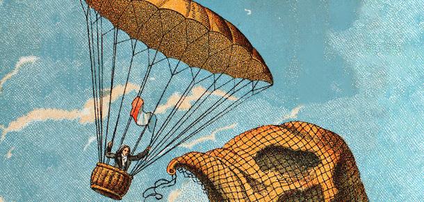 22 ottobre 1797: André-Jacques Garnerin testa con successo il paracadute