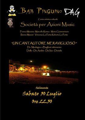Sabato 30, concerto della SpA Music a Marinella di Selinunte