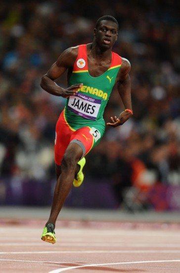 Il Campione Olimpico Kirani James corre i 400 metri in 44.08 a Des Moines(USA), miglior prestazione...