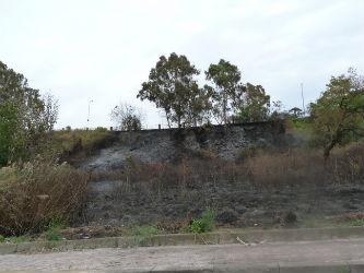 Ancora un incendio ad Enna bassa, questa volta nel centro abitato