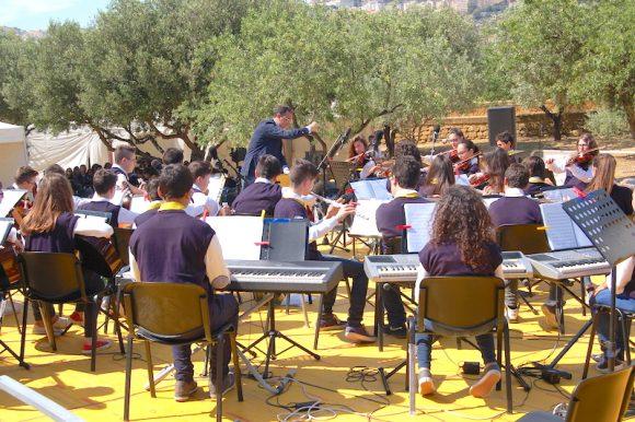 Giovani artisti castelvetranesi in concerto alla Valle dei Templi