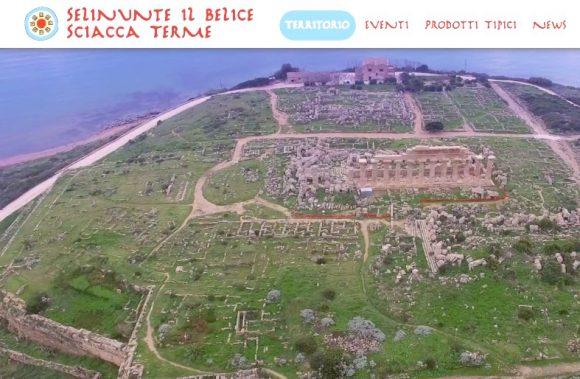 Online l'innovativo portale del Distretto Turistico Selinuntino