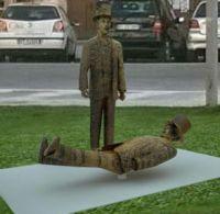 Palermo: Al Quartiere del Capo consegna del Monumento a Franco e Ciccio