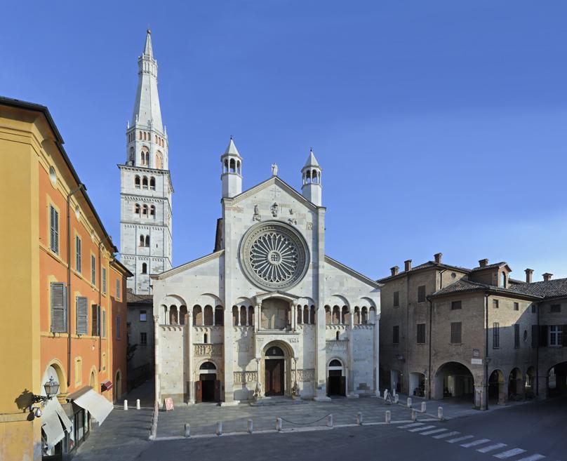 23 maggio 1099: Inizia la costruzione del Duomo di Modena