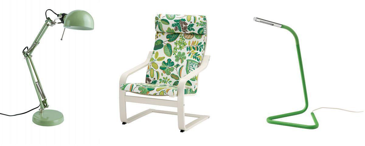 10 prodotti IKEA per portare in casa la tendenza Greenery di Pantone