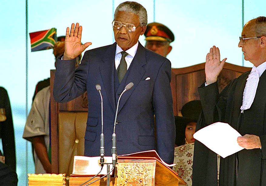 9 maggio 1994: Nelson Mandela viene eletto presidente