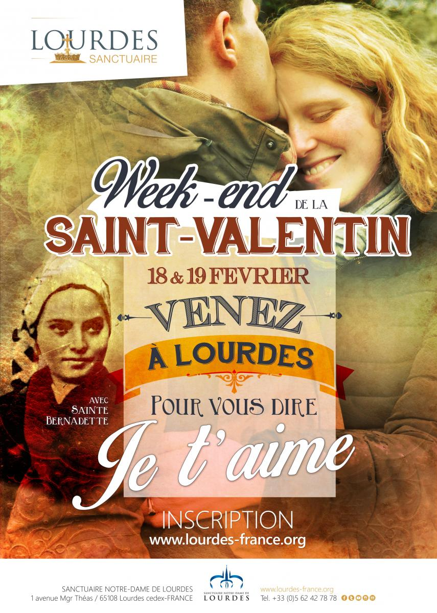 Week-end de la Saint-Valentin à #Lourdes