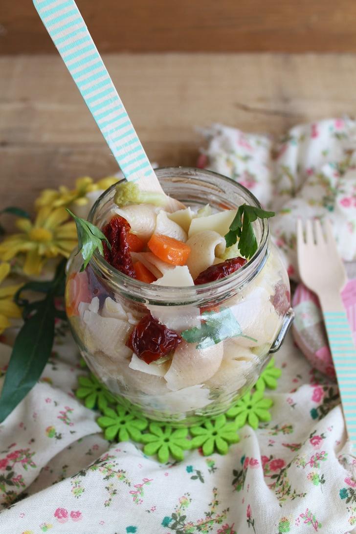 Salade de pâtes sans gluten pour Piaceri Mediterranei