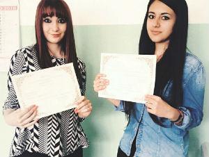 Due studentesse ennesi, nell'albo d'oro accademia francese, per padronanza lingua