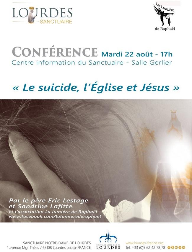 #Lourdes – Le suicide, l'Église et Jésus