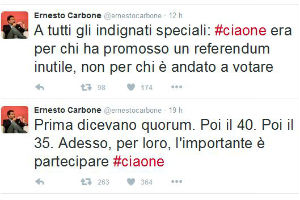 #CIAONE – by Ernesto Carbone: Commissario PD Enna