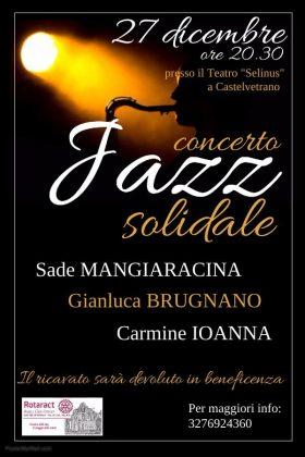 Jazz Solidale al SELINUS con il Rotaract e Sade Mangiaracina