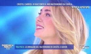 Cristel Carrisi: prima contro Barbara d'Urso poi va a Domenica Live. Il tweet della discordia