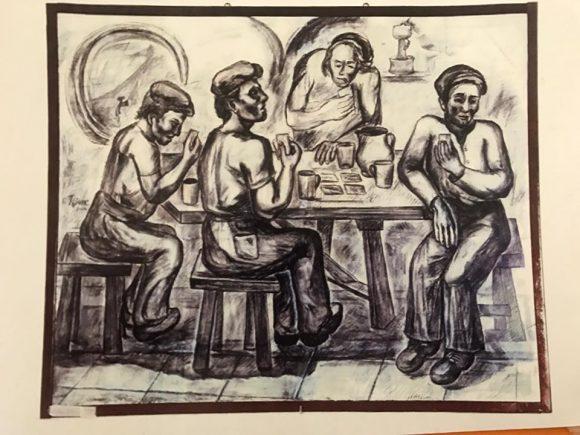 Francesco Titone dona un'opera alla Città di Castelvetrano