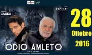 """Gabriel Garko in teatro con """"Odio Amleto"""""""