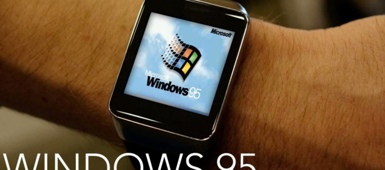 Uno sviluppatore ha messo Windows 95 sull'Apple Watch | Surface Phone Italia