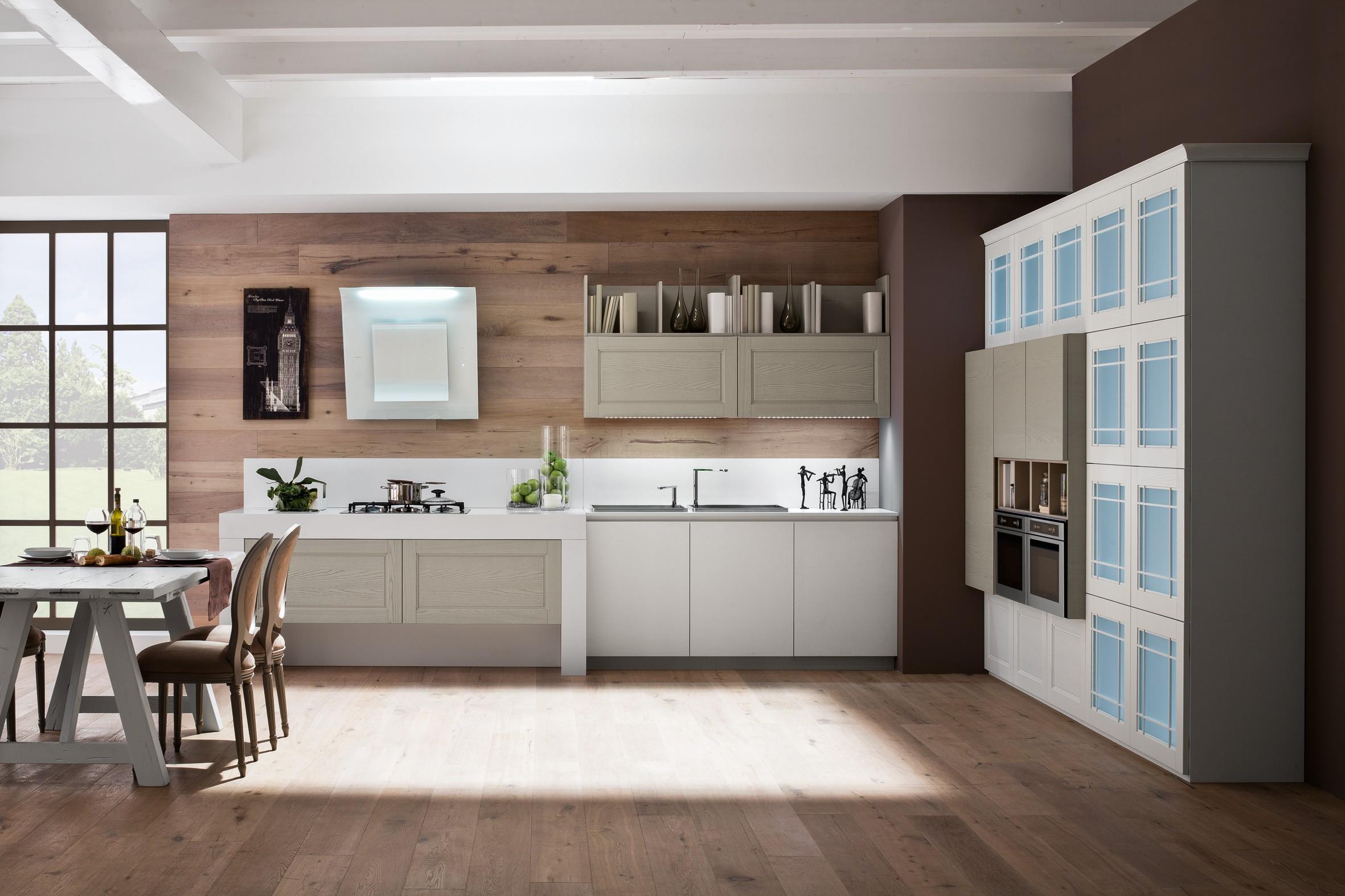 Come progettare una cucina con un effetto visivo articolato?