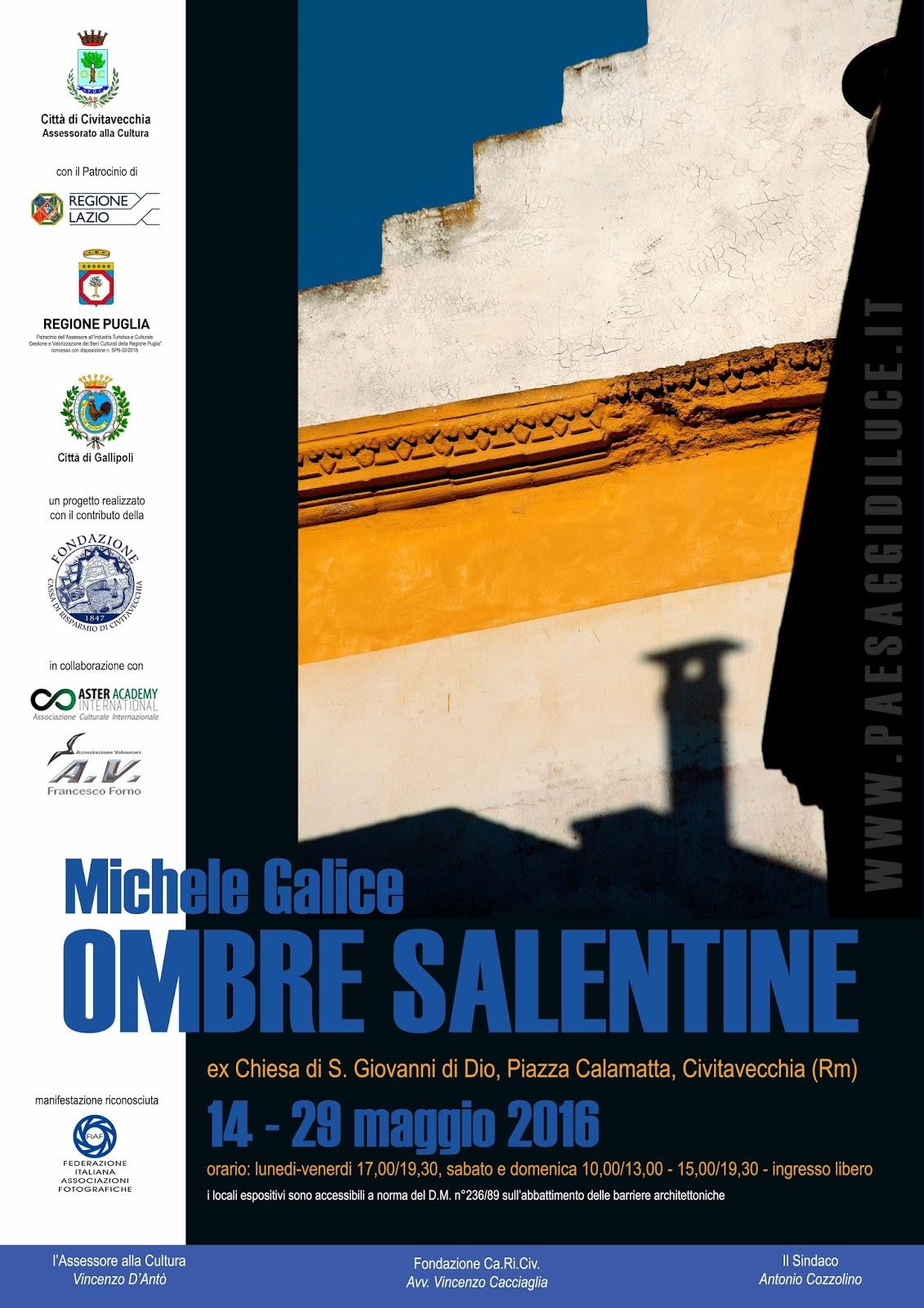 Mostra Ombre Salentine a Civitavecchia (Rm)