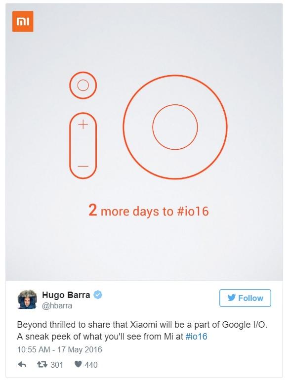 Xiaomi conferma che prenderà parte al Google I/O 2016