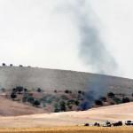 L'Esercito turco spara contro i combattenti curdi