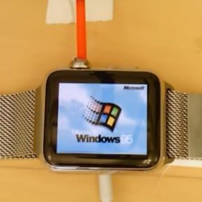 Apple Watch con le finestre colorate? Un programmatore riesce a farci girare Windows 95!