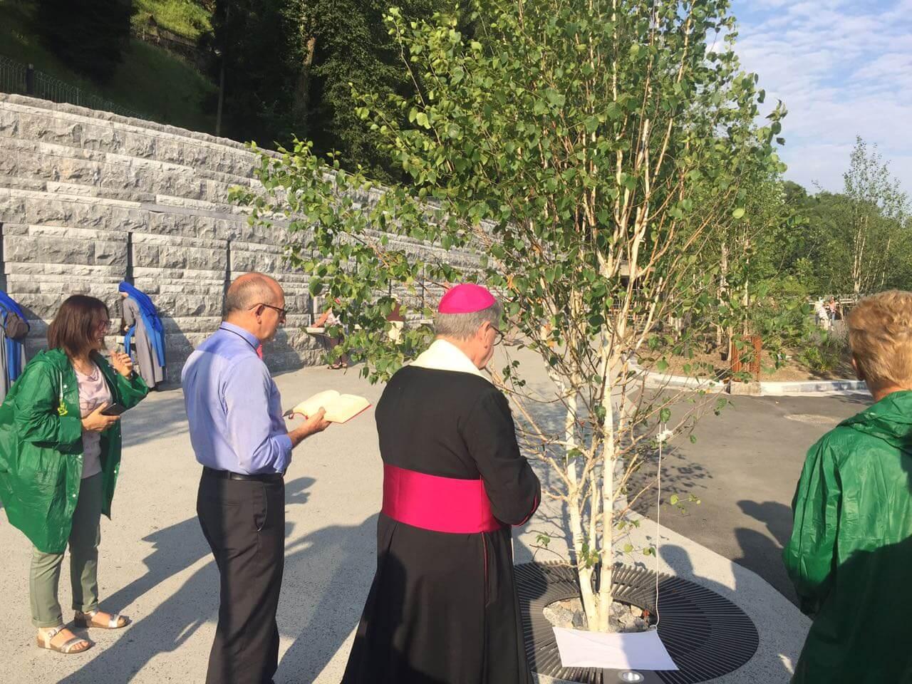 "Nasce a Lourdes ""Il giardino delle fontane"""