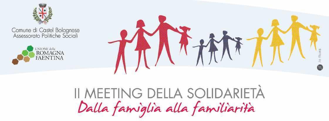 2° Meeting della Solidarietà a Castel Bolognese:mercoledì 20 esabato 23 settembre 2017