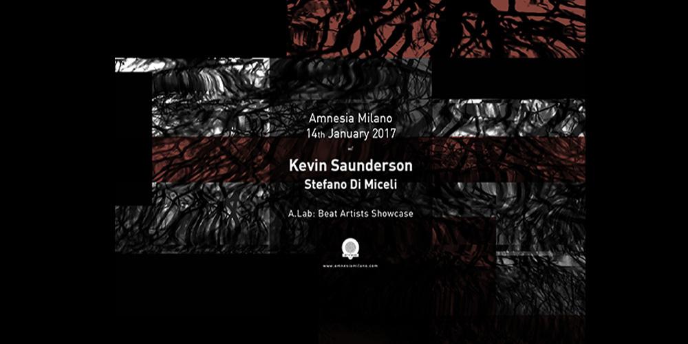 Kevin Saunderson e Stefano Di Miceli sabato 14 gennaio 2017 all'Amnesia di Milano