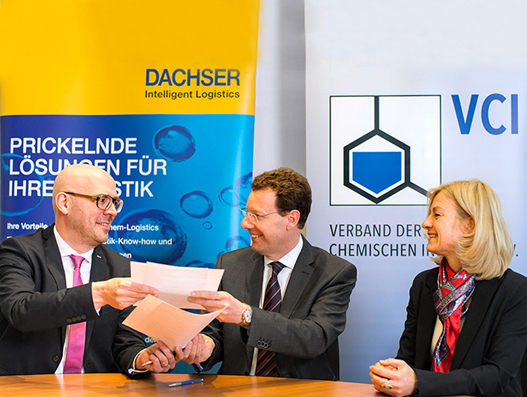 Chemical Industry Association VCI extends contract with Dachser | Supply Chain