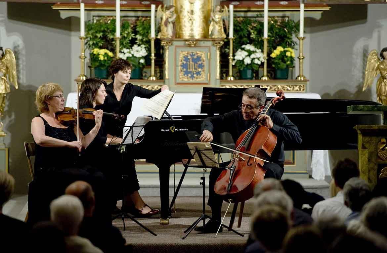 Sulle Dolomiti rieccheggiano raffinate sinfonie...