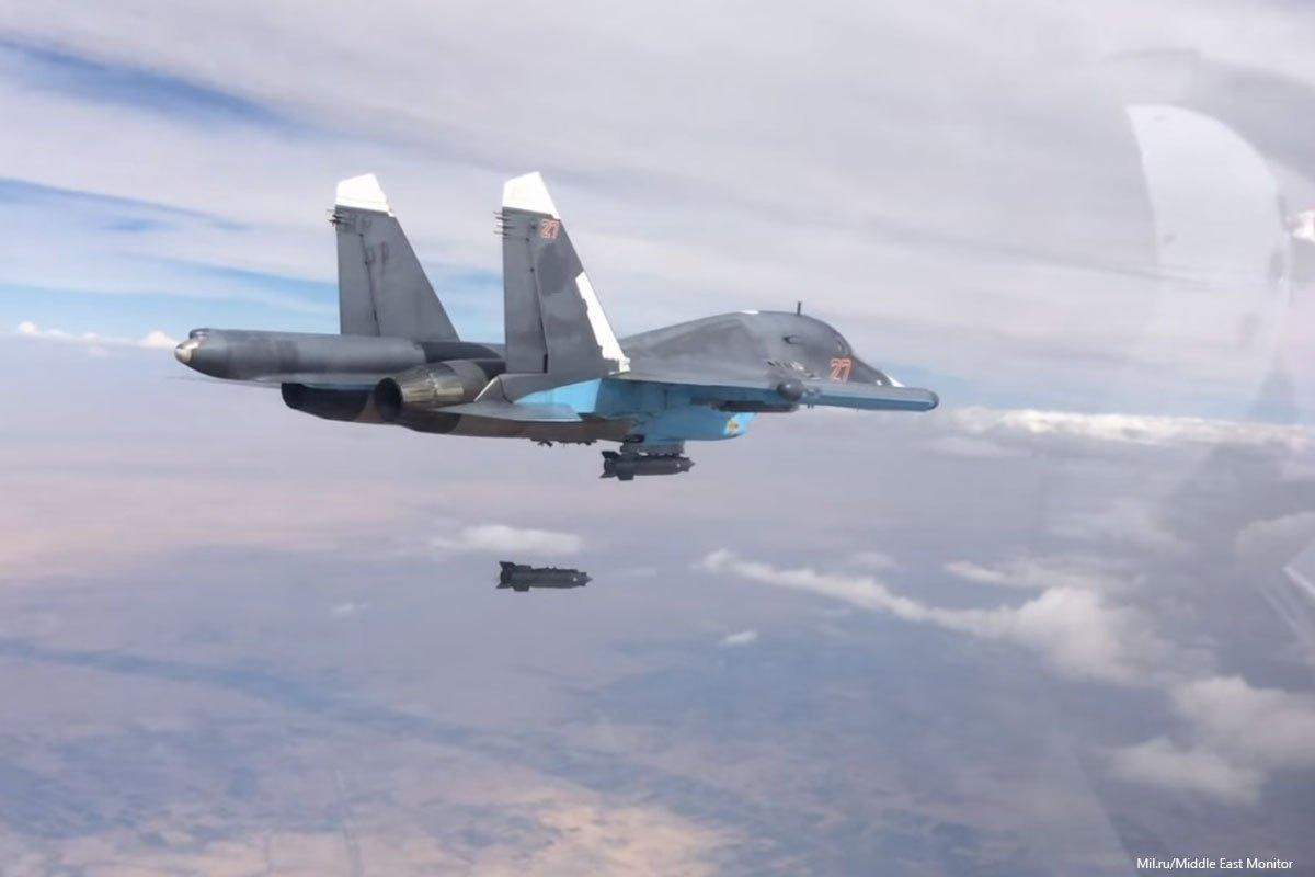 Siria: Attacchi aerei russi uccidono più di 200 militanti ISIS a Deir Ez-Zor » Guerre nel Mondo