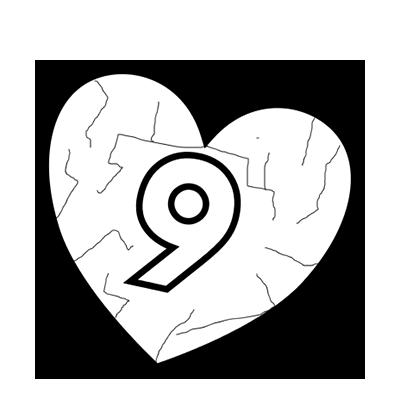Il mistero del numero 9 e della coppia che scoppia