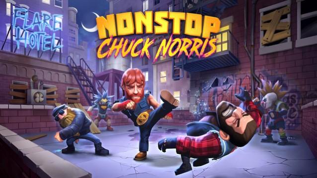 Nonstop Chuck Norris, il videogame ufficiale arriva su Android e iOS