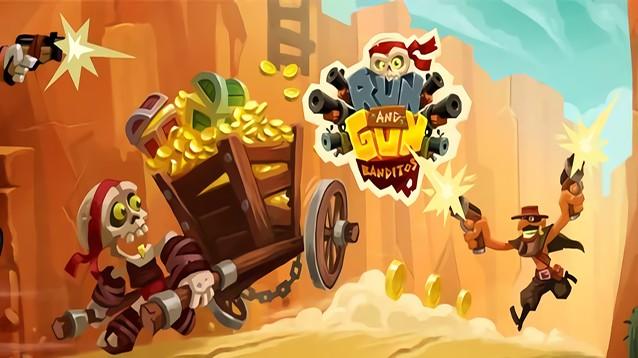 Corri & Spara: Banditi, sparatutto arcade con logiche da running game