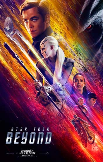 STAR TREK BEYOND navigando in un mare di news e clip