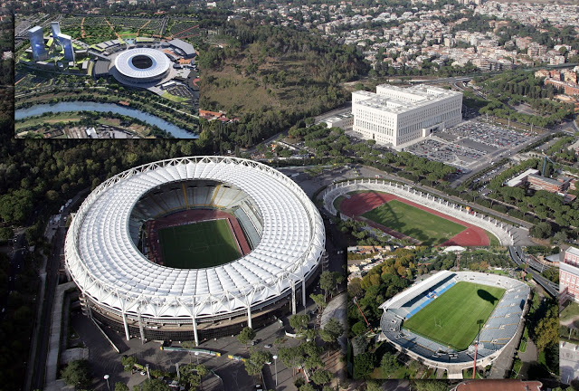 Calcio. Roma. No della Raggi allo stadio: Il parere è negativo