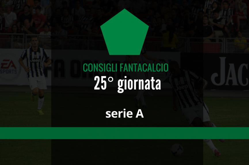 Chi schierare al Fantacalcio: 25.a giornata di Serie A