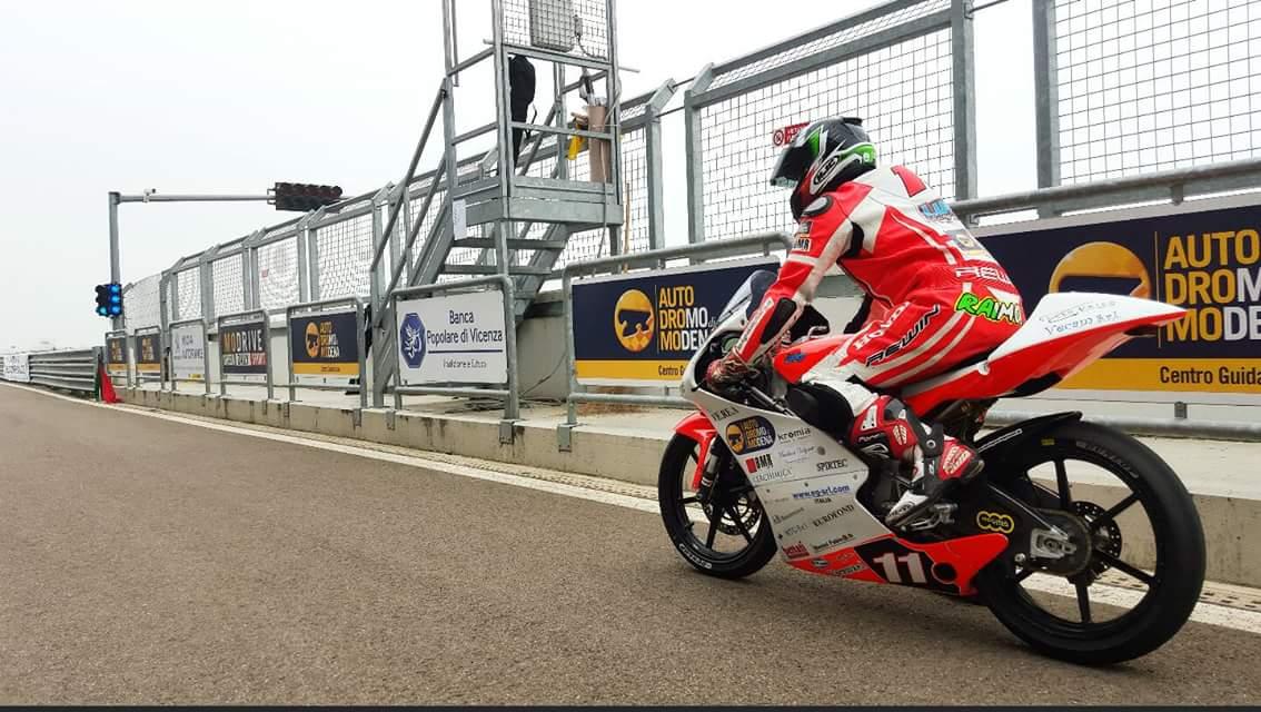Andrea Raimondi/Lucky Racing Team 2015