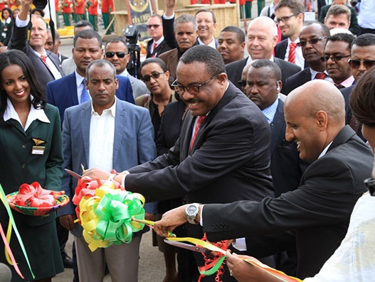 Ethiopian PM cuts the ribbon for Africa's largest cargo terminal | Air Cargo
