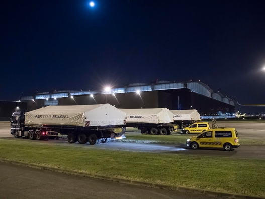 Airbus' next generation cargo aircraft BelugaXL hits the road | Air Cargo
