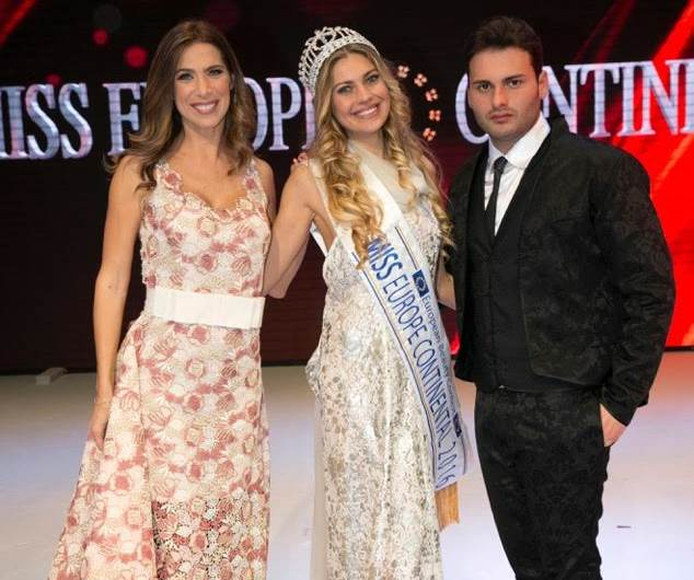 Miss Europe Continental 2017, conquista il cuore di Napoli e Fashion Tv!