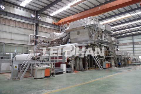 7TPD Toilet Paper Production Line